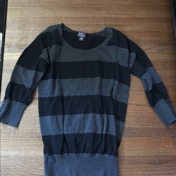 Oh Baby by Motherhood Sweaters - Striped Oh Baby used Maternity Sweater.